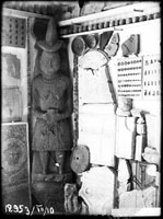 Display in the Warehouse of Local Antiquities: mediaeval architecture and sculpture department