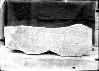 Fragment of inscription from the Roman Period
