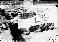 Excavations near Kazachya Bay