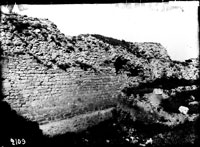 1926 excavation trench