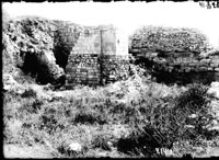 Leontios' Basilica before its restoration in August 1927