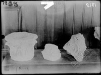 Early mediaeval architectonic members (capitals) from the past years excavations