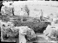 Excavations in the Gerakleyskiy Peninsula near Bermana village