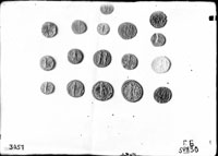 Coins from different cities (Sinope, Olbia, Pantikapaion, Amisos, etc.)