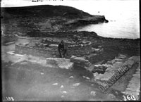 1932 excavation trench