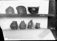 Shards of MEGARIAN BOWLS with painted ornamentation