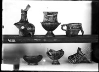 Vessels of different shapes, in fragments