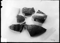 Fragments of red-figured vessels