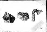 Fragments of glazed PITCHERS